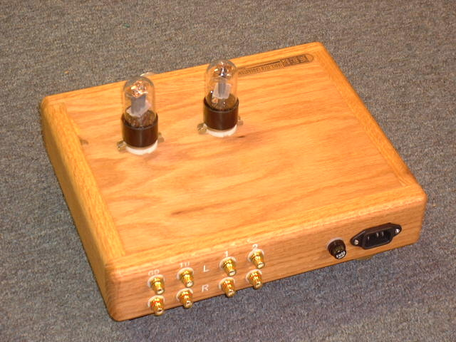 6SL7 6SN7 X 2 Pure Tube Pre Amplifier With MC MM Phono Stage